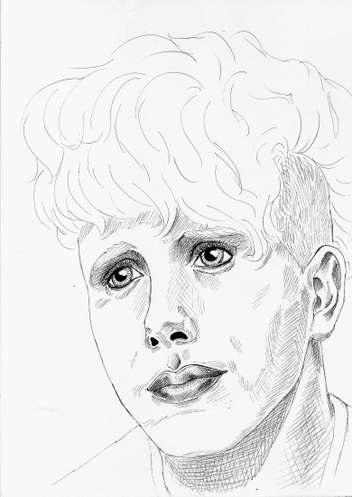 Martin Gore by synthesiser